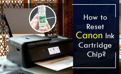 Reset Canon Pixma Ink Cartridge