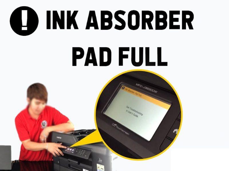 Brother Printer Ink Absorber Full Error